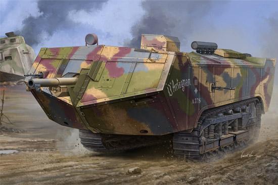 French Saint-Chamond Heavy Tank - Late