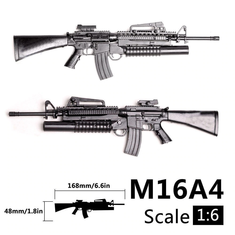 1/6 M16A4 for action figures