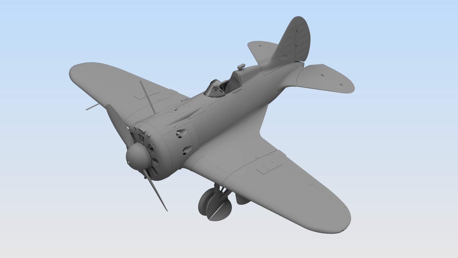 1/32 32003 И-16 тип 29, Советский истребитель ІІ МВ \ I-16 type 29, WWII Soviet Fighter