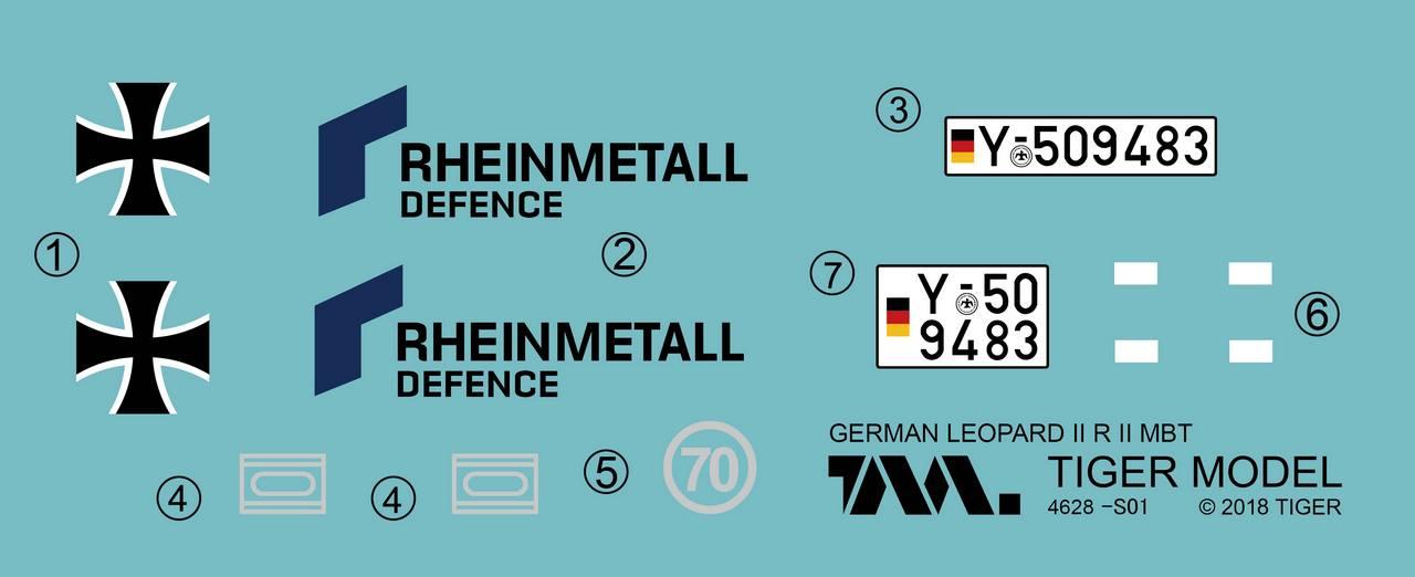 1/35 Germany LEOPARD II REVOLUTION II MBT 4628