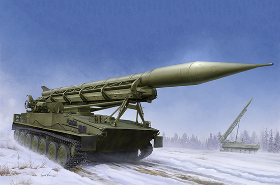 1/35 2P16 Launcher with Missile of 2k6 Luna (FROG-5) 09545