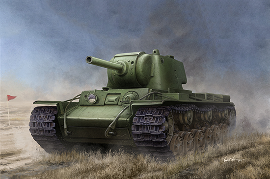 1/35 Russian KV-9 Heavy Tank 09563