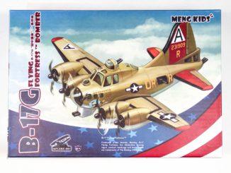 mPLANE-001 B-17G Flying Fortress Bomber
