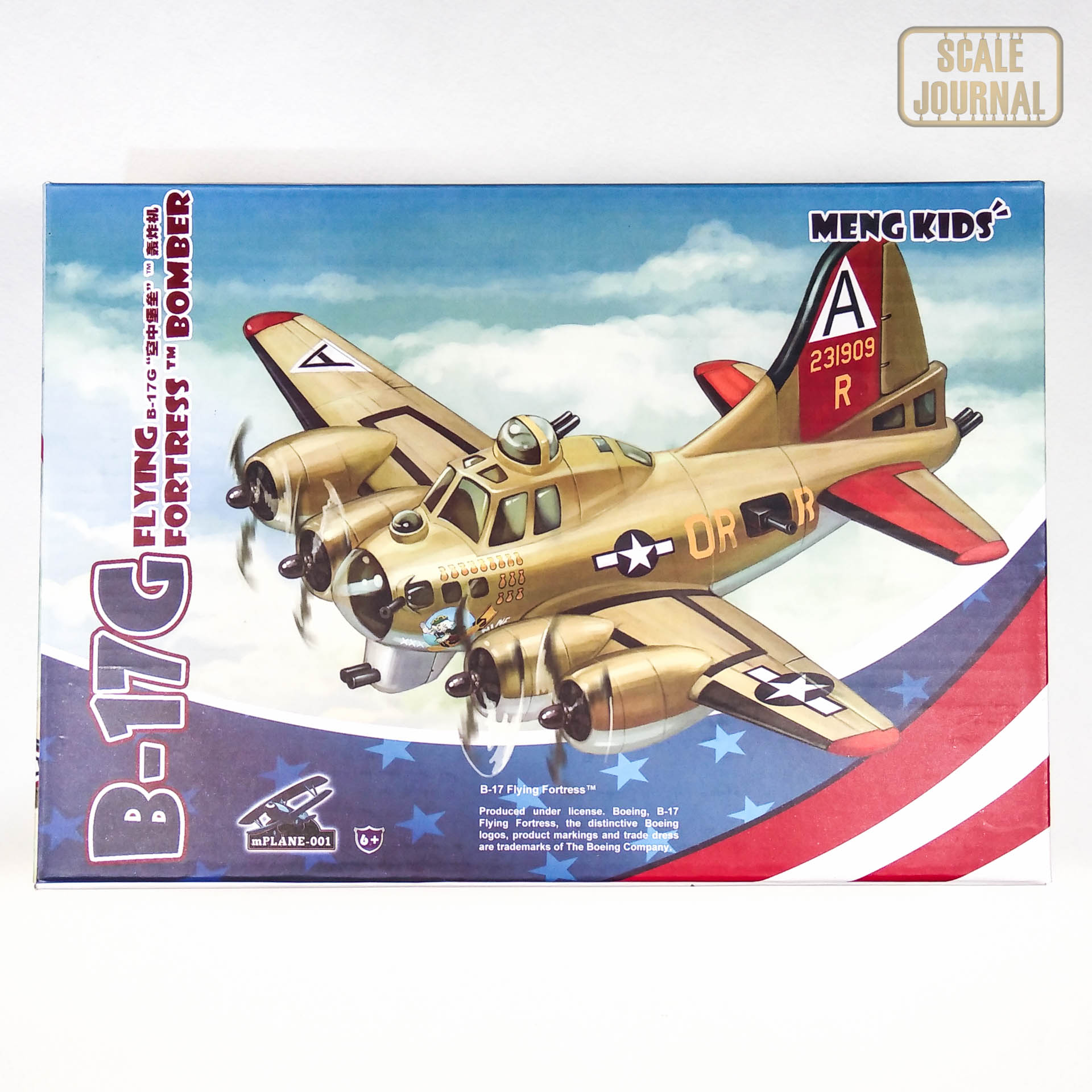 mPLANE-001 B-17G Flying Fortress Bomber