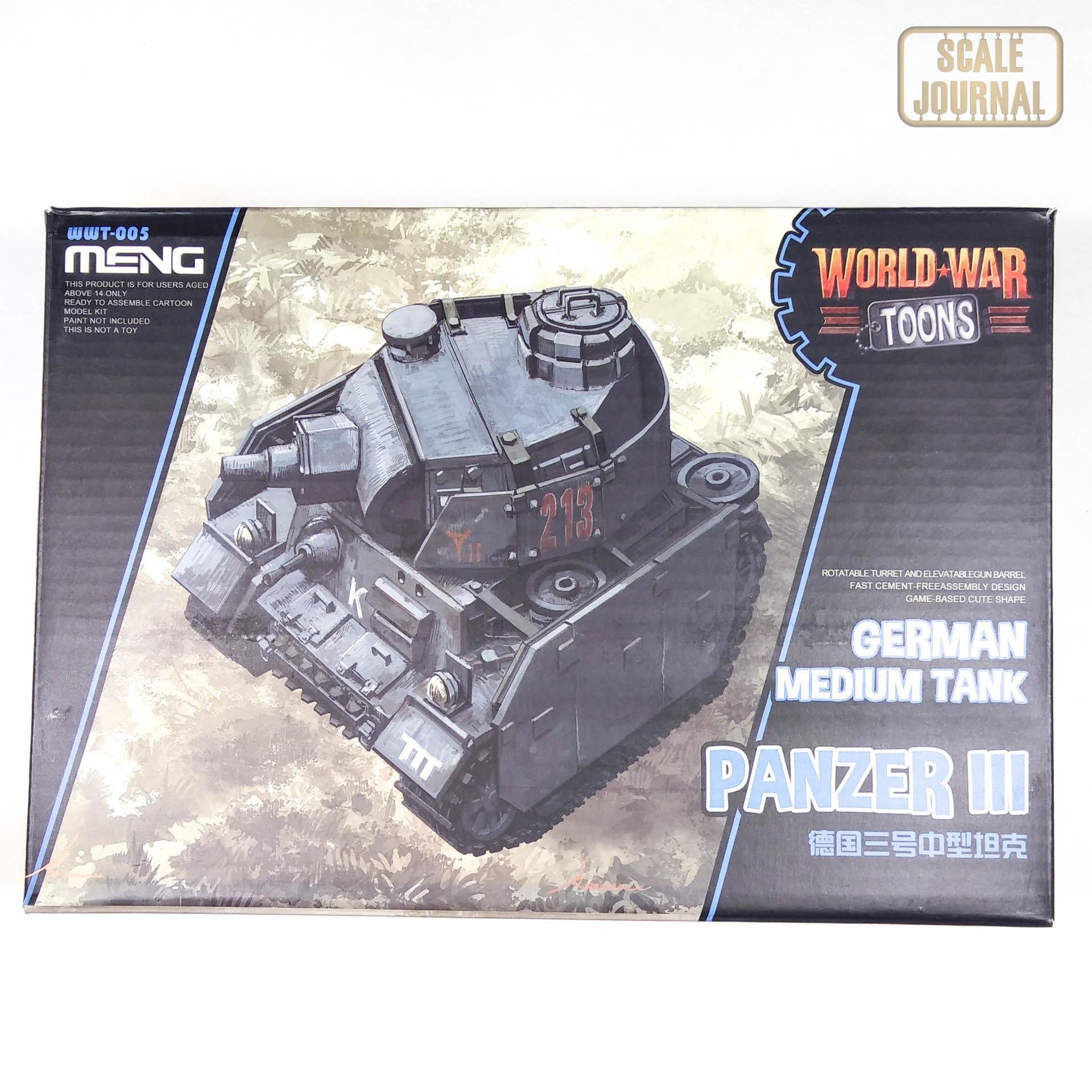 German Medium Tank Panzer III - Meng WWT-005