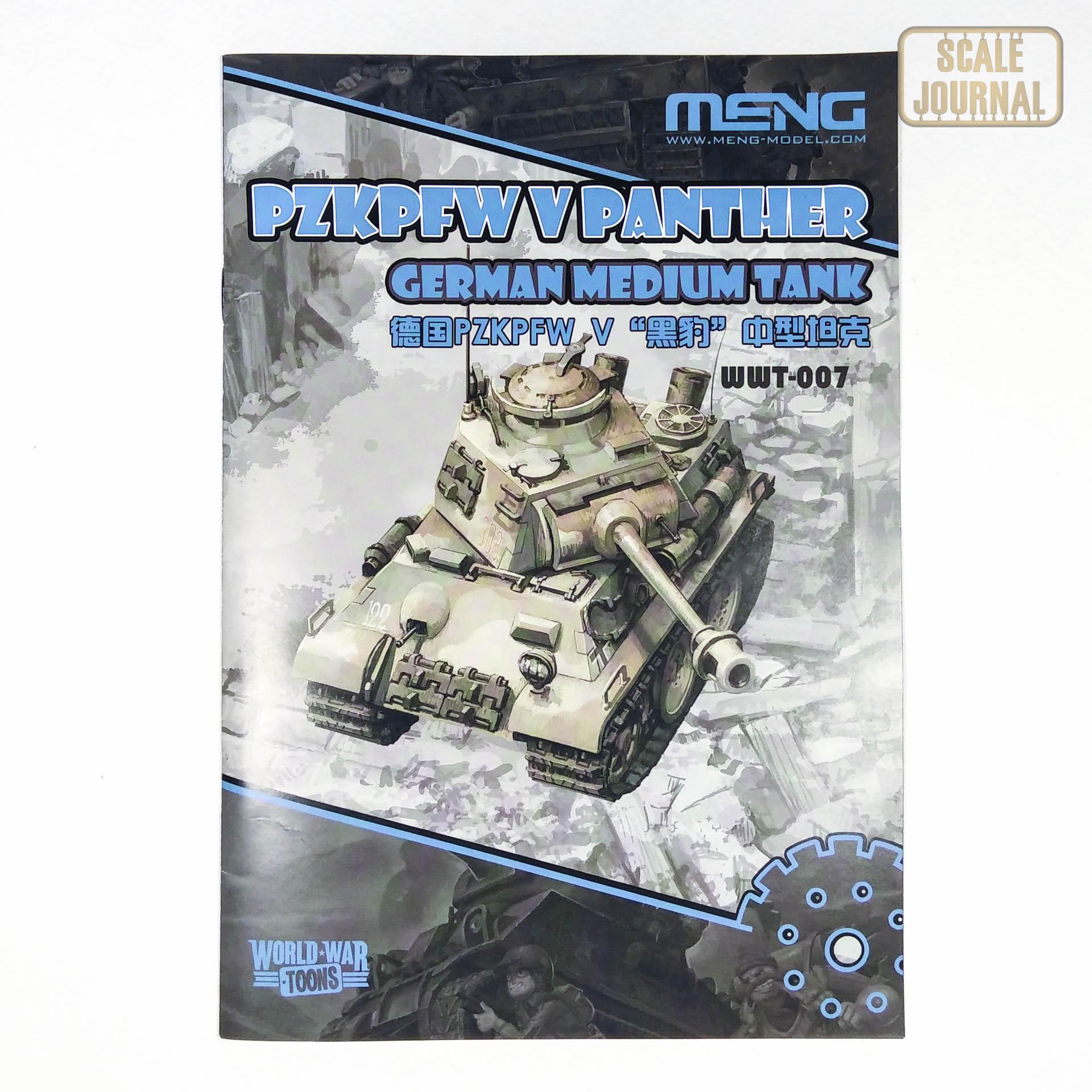 German Medium Tank PzKpfw V Panther - Meng WWT-007