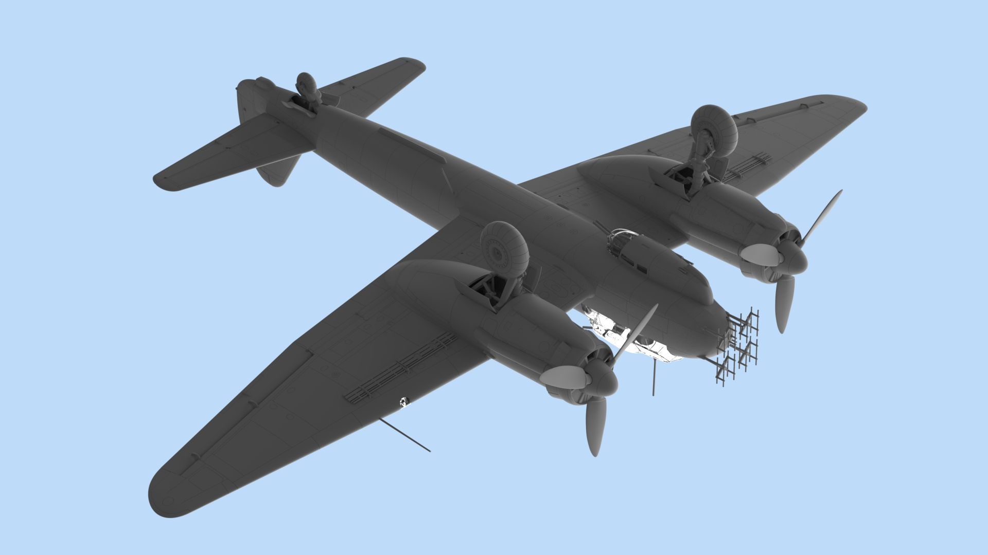 1:48 Ju 88С-6b, Германский ночной истребитель ІІ МВ 48239