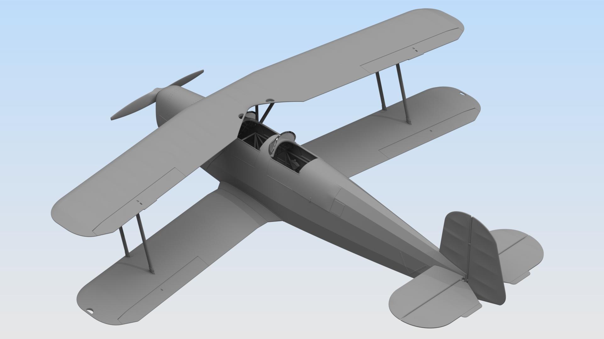 1:32 Bücker Bü 131B, Германский учебный самолет 32031