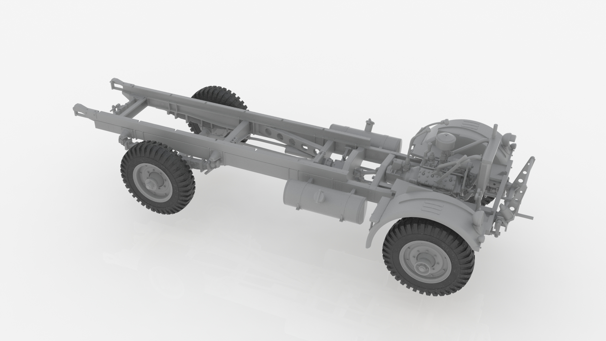 1/35 Model W.O.T. 6, Британский грузовой автомобиль ІІ МВ 35507