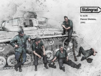 S-3170 - Panzer Division, 1941 Big Set