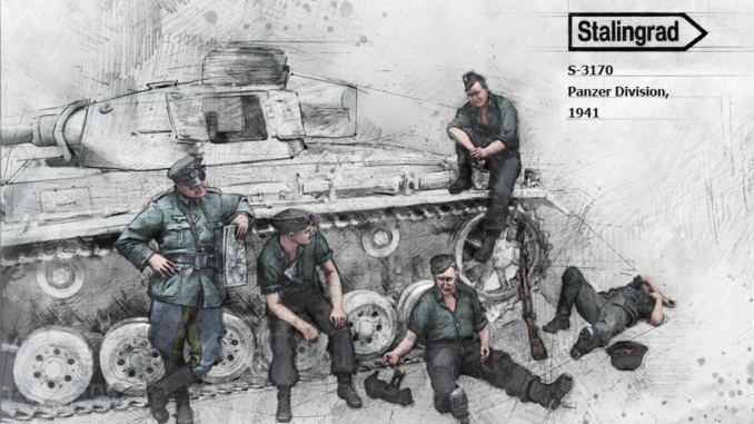 S-3170 - Panzer Division, 1941 Big Set