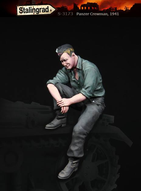 S-3173 Panzer Crewman, 1941