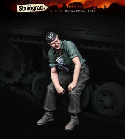 S-3171 Panzer Officer, 1941