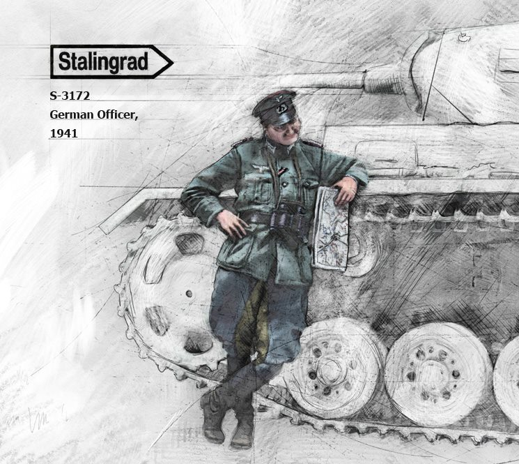 S-3172 German Officer, 1941