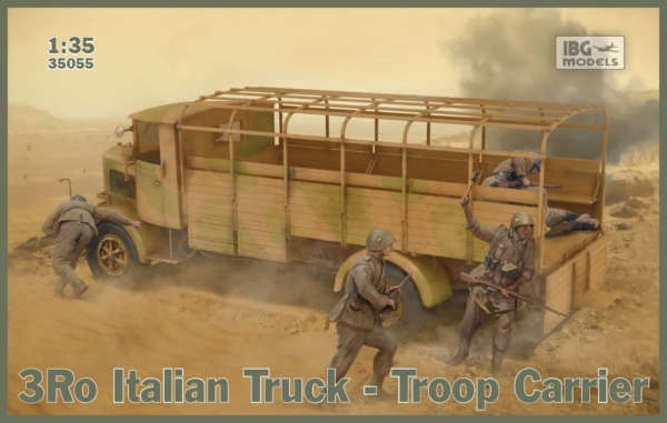 1/35 3Ro Italian Truck Troop Carrier 35055