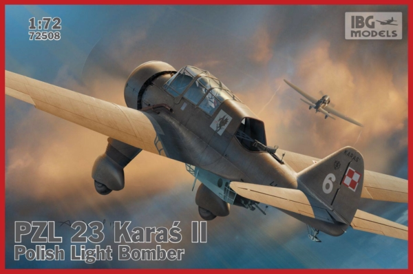 1/72 PZL.23 Karaś II - Polish Light Bomber 72508