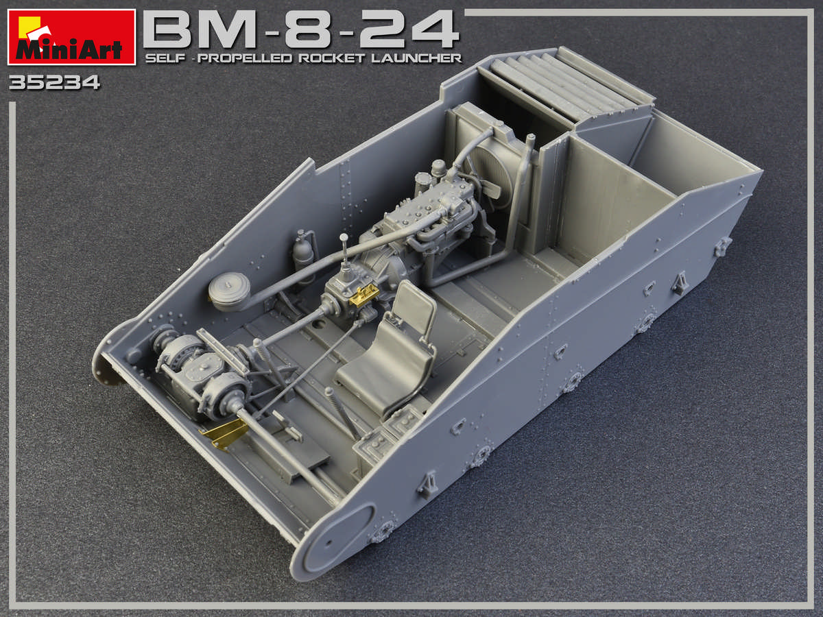 1/35 BM-8-24 SELF-PROPELLED ROCKET LAUNCHER 35234