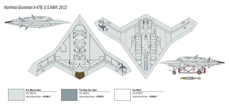 1/72 X-47B 1421