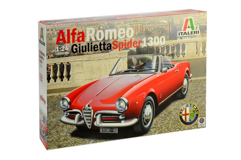 1/24 ALFA ROMEO GIULIETTA SPIDER 1300 3653
