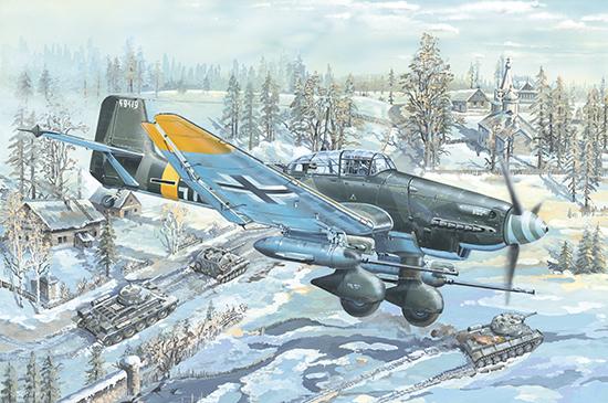 1:24 Junkers Ju-87G-2 Stuka 02425