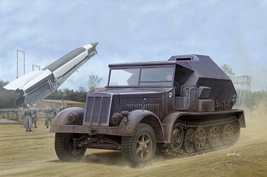1:35 Sd.Kfz.7/3 Half-Track Artillery Tractor 09537