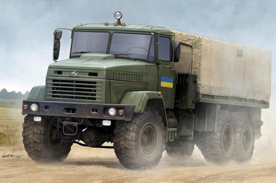 """1:35 Ukraine KrAZ-6322 """"Soldier"""" Cargo Truck 85512"""