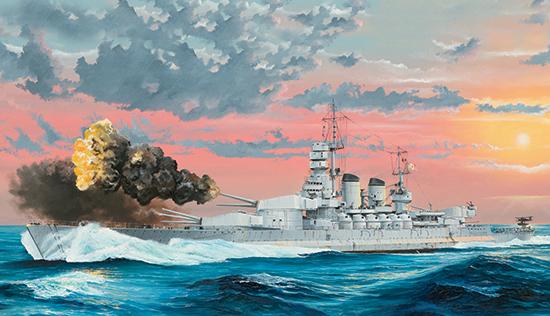 1/350 Italian Navy Battleship RN Littorio 1941 05319
