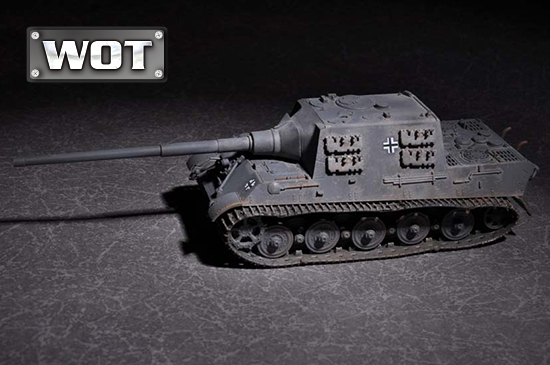 1/72 German JagdTiger with 128mm pak 44L-61 07165