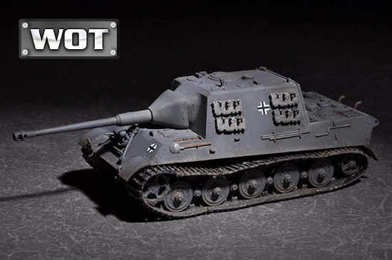 1/72 German JagdTiger with 88mm /L71 07166
