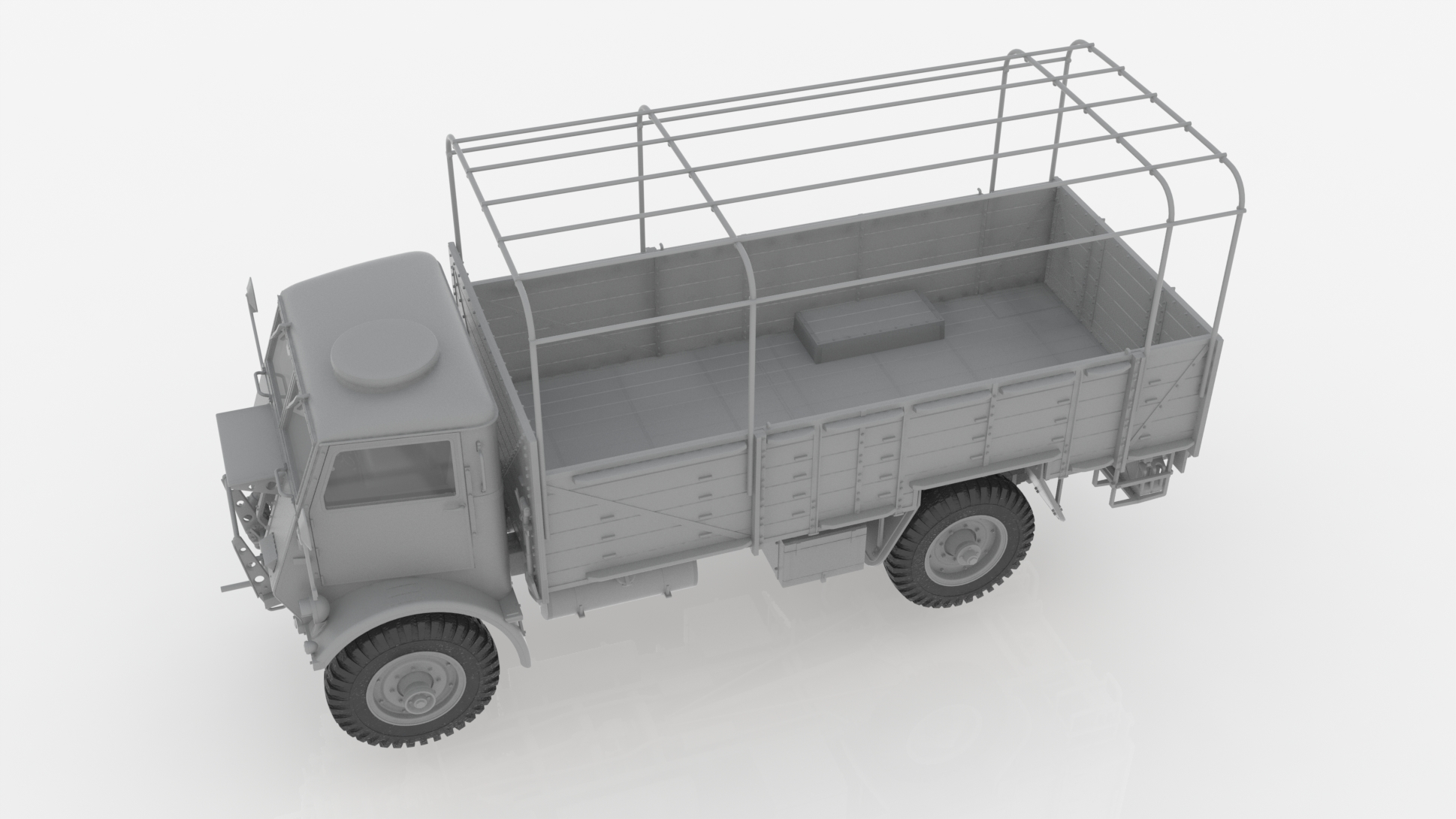 1/35 Model W.O.T. 6, WWII British Truck (100% new molds) 35507