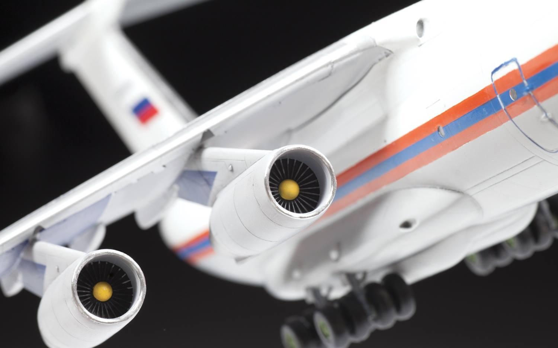 1/144 Ил-76ТД в версии МЧС России 7029
