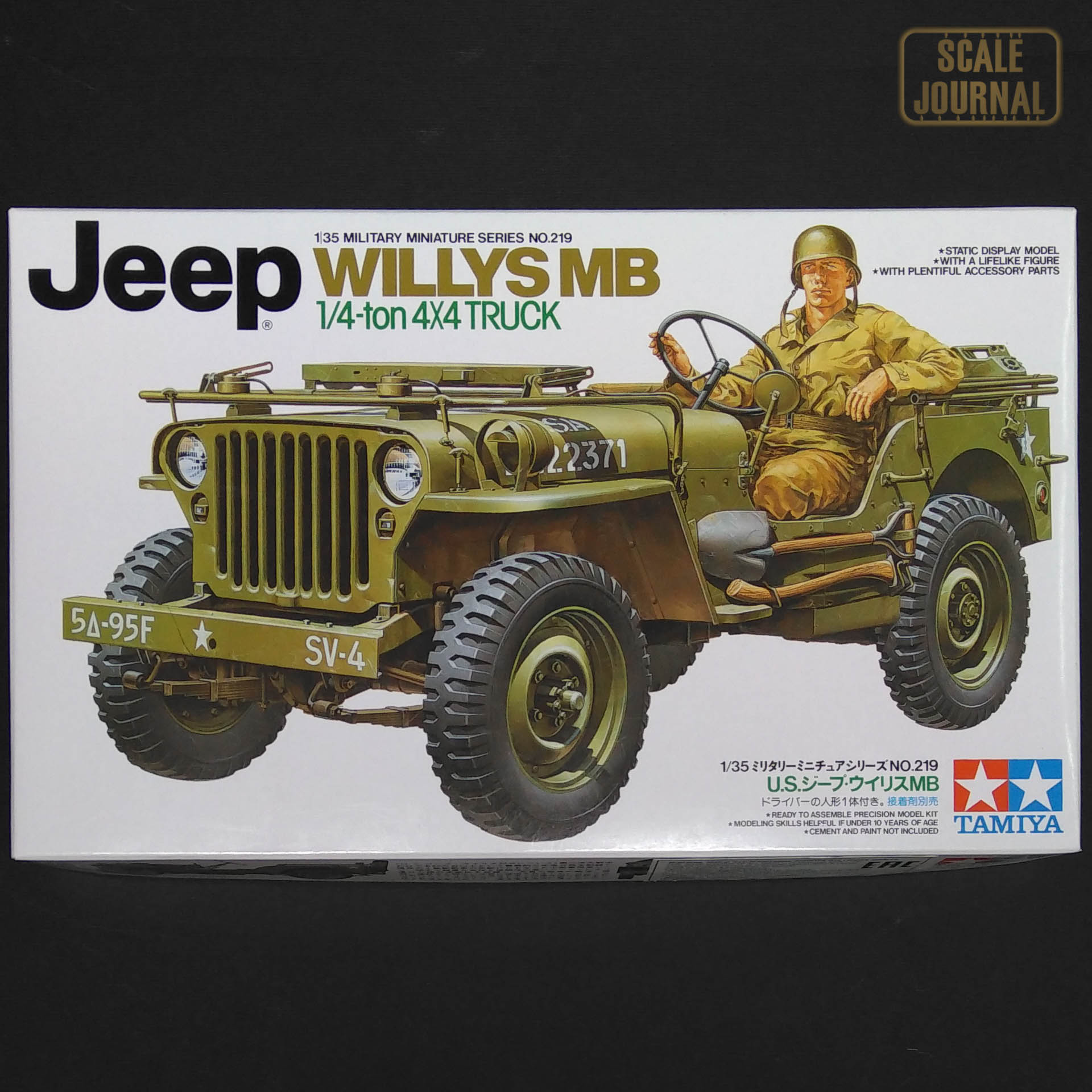 1/35 Tamiya Jeep Willys MB 1/4ton 4X4 Truck 35219
