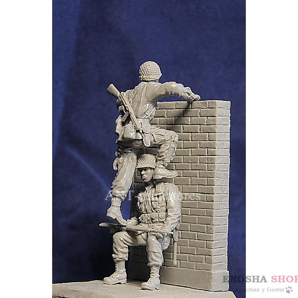 1/35 Американские парашютисты 1944г (ANT-MINIATURES)
