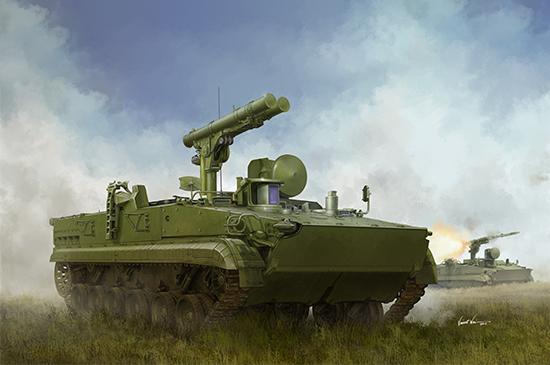 1/35 Russian 9P157-2 Khrizantema-S Anti-tank system 09551