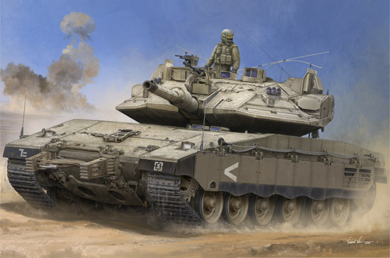 1/35 IDF Merkava Mk IV w/Trophy 8452