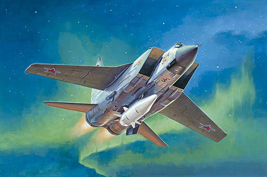 1/32 MiG-31BM. w/KH-47M2 01697