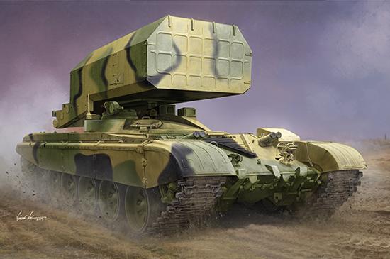 1/35 Russian TOS-1 Multiple Rocket Launcher Mod.1989 09560