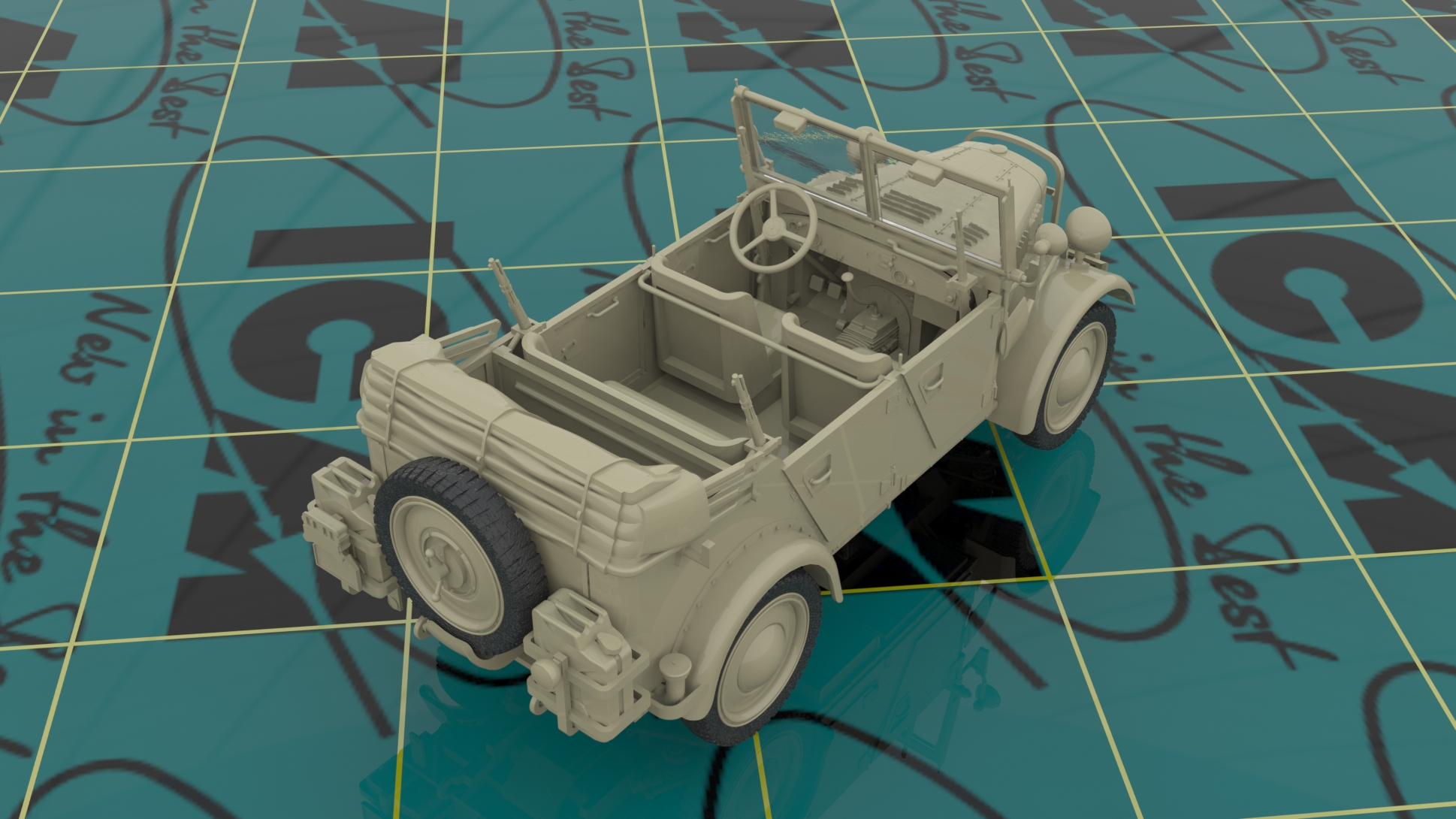 "1/35 Группа армий ""Центр"" (лето 1941 г.) #DS3502 / Army Group ""Center"" (Summer 1941) (Kfz.1, Typ L3000S, German Infantry (4 figures), German Drivers (4 figures)"