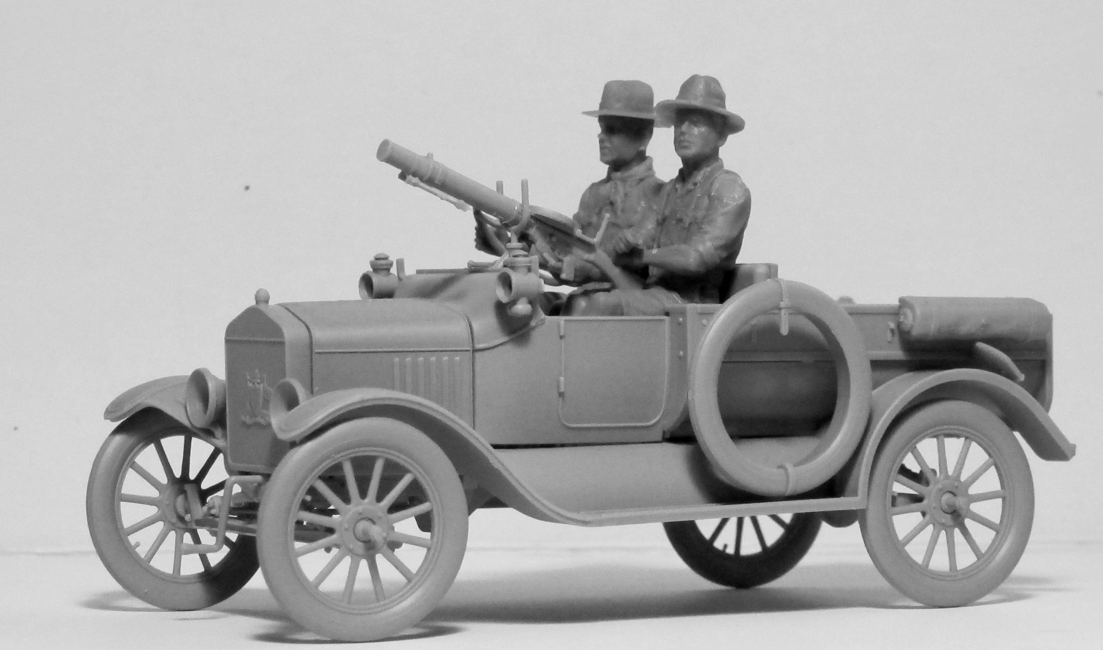 1/35 Водители АНЗАК (1917-1918 г.) #35707 / ANZAC Drivers (1917-1918) (2 figures) (100% new molds)