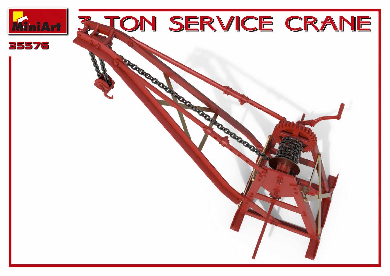 1/35 3 TON SERVICE CRANE 35576