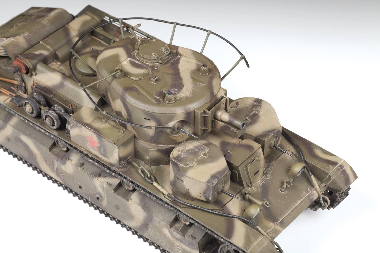 1/35 Т-28 Советский средний танк 3694 ( Soviet medium tank T-28)