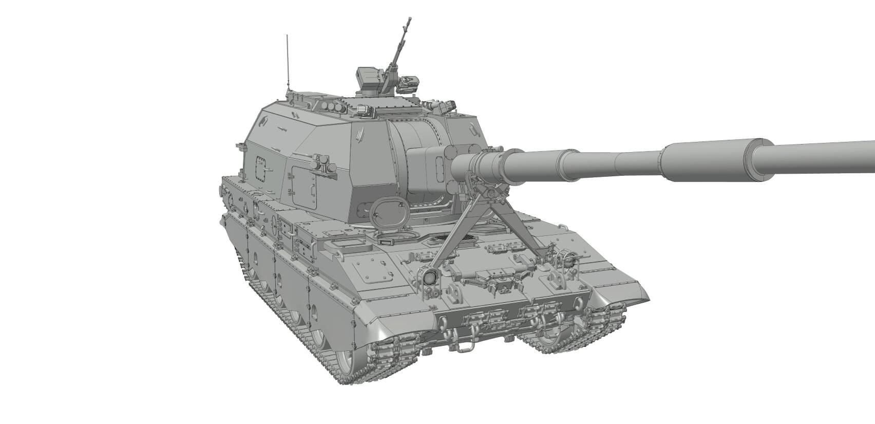 1/35 САУ Коалиция Звезда/ 2S35 Koalitsiya-SV Zvezda