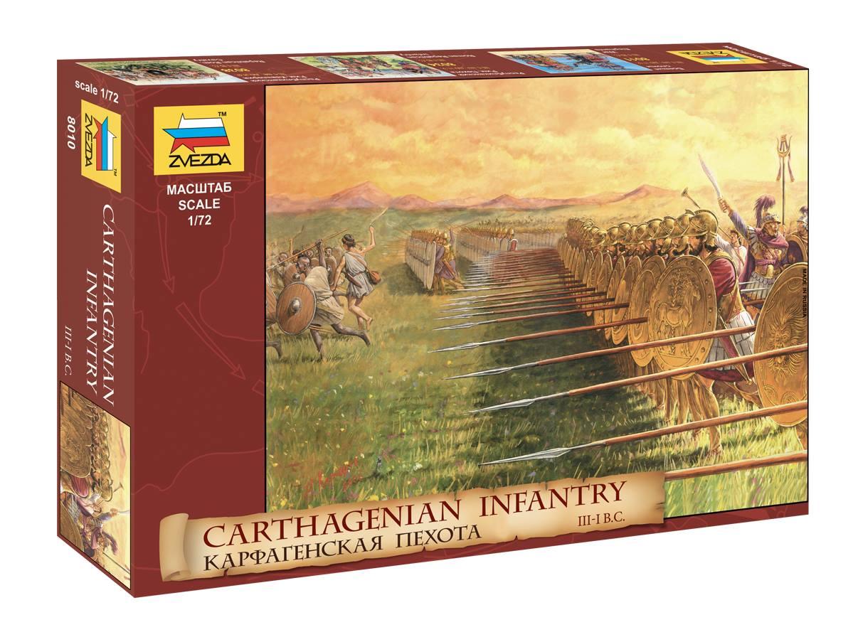 1/72 Карфагенская пехота 8010 (Carthagenian infantry)