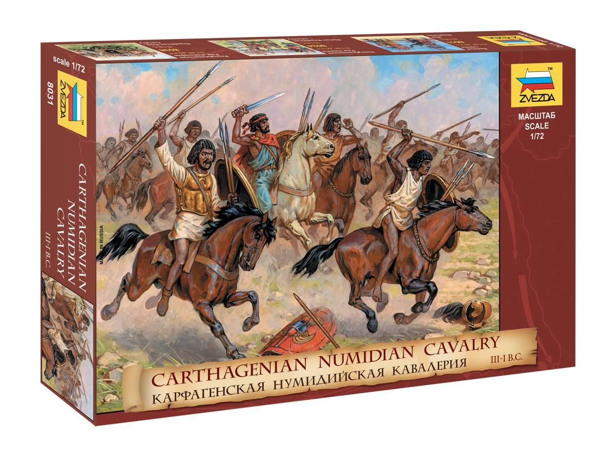 1/72 Карфагенская нумидийская кавалерия 8031 (Carthagenian numidian cavalry)