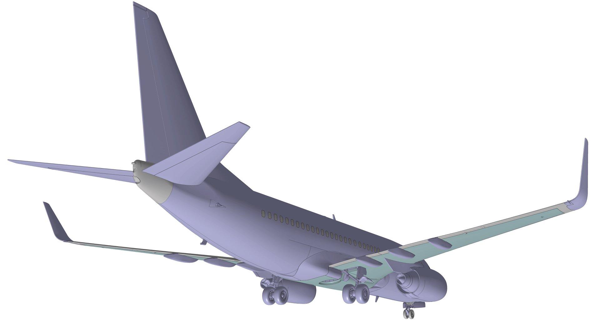 1/144 Боинг 737-700 Звезда