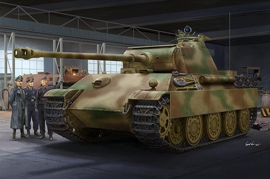 1/16 German Panther G - Late version 00929