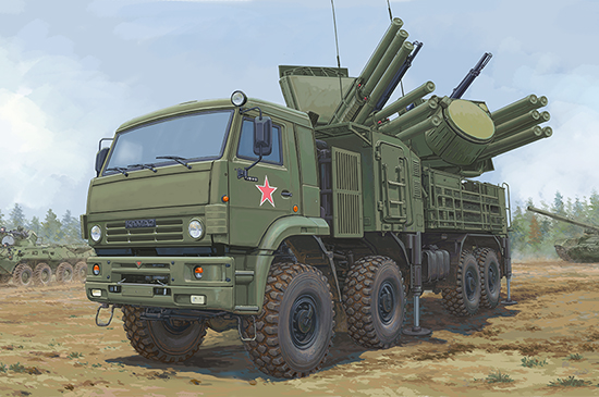 1/35 72V6E4 Combat Vehicle of 96K6 Pantsir-S1 ADMGS 01060
