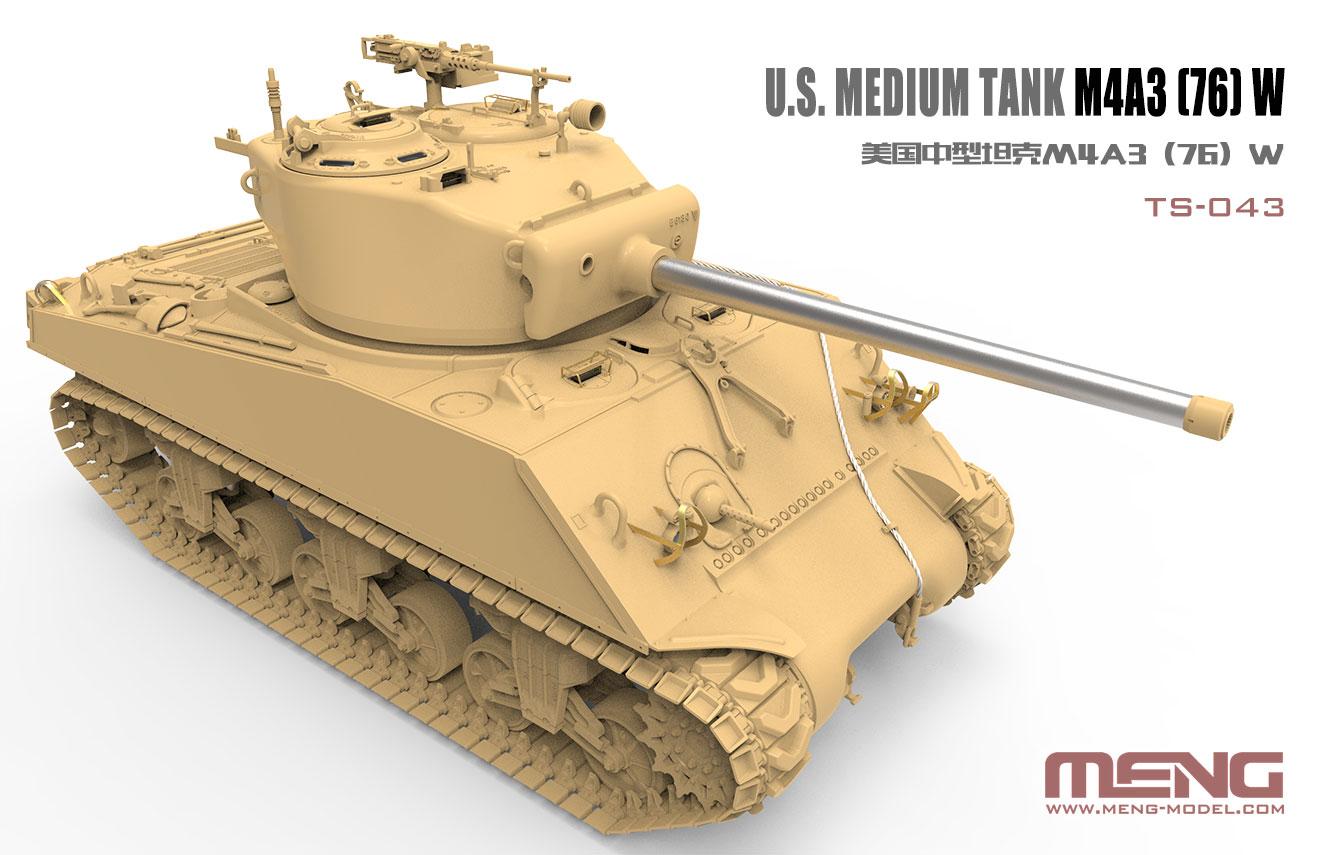MENG TS-043 U.S. Medium Tank M4A3
