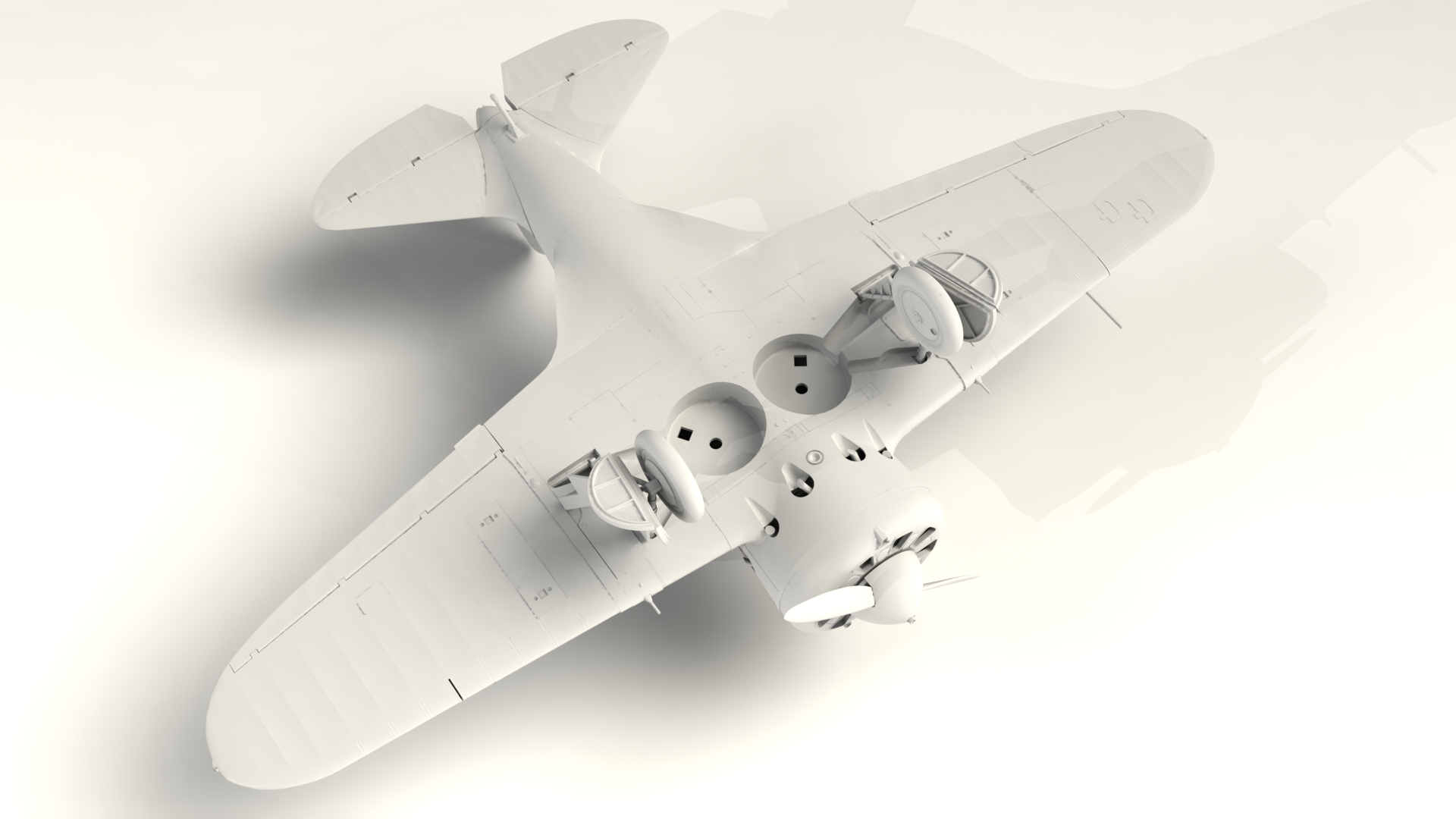 1/32 I-16 type 10, WWII Soviet Fighter 32004