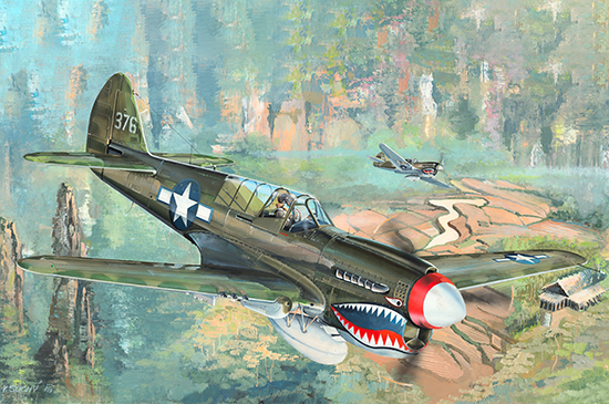 1/32 P-40N War Hawk 02212